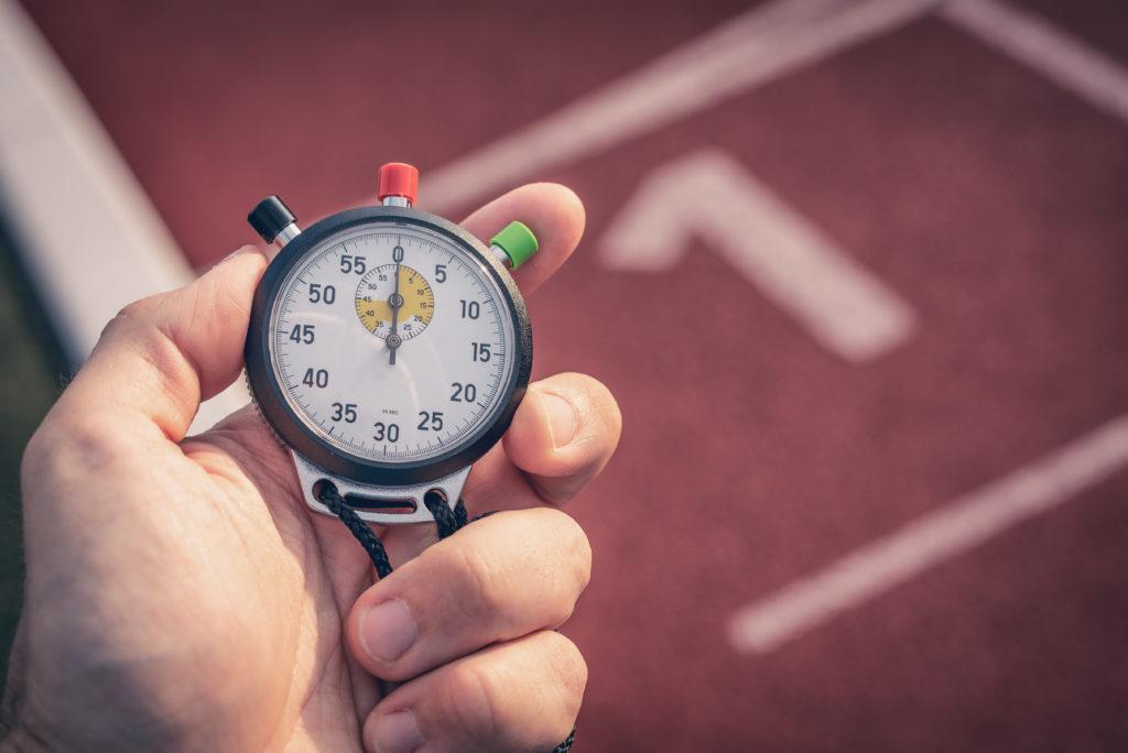 短距離走タイム計測の豆知識